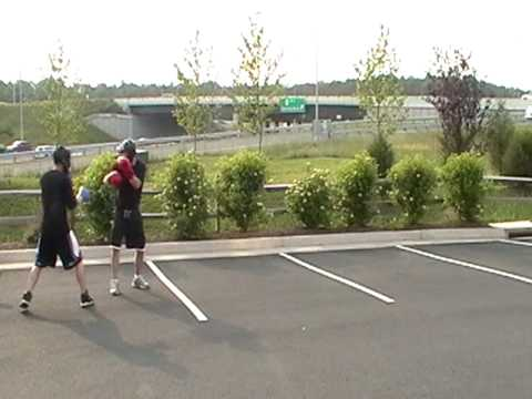 Sparring Class 2009/06/03 Dulles - Aaron and Larry