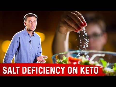 Salt Deficiency on Keto (Ketogenic Diet)