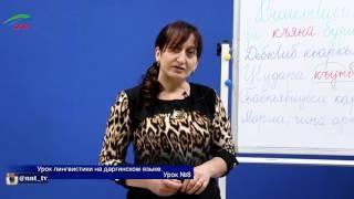 Уроки лингвистики. Даргинский язык. Урок 8