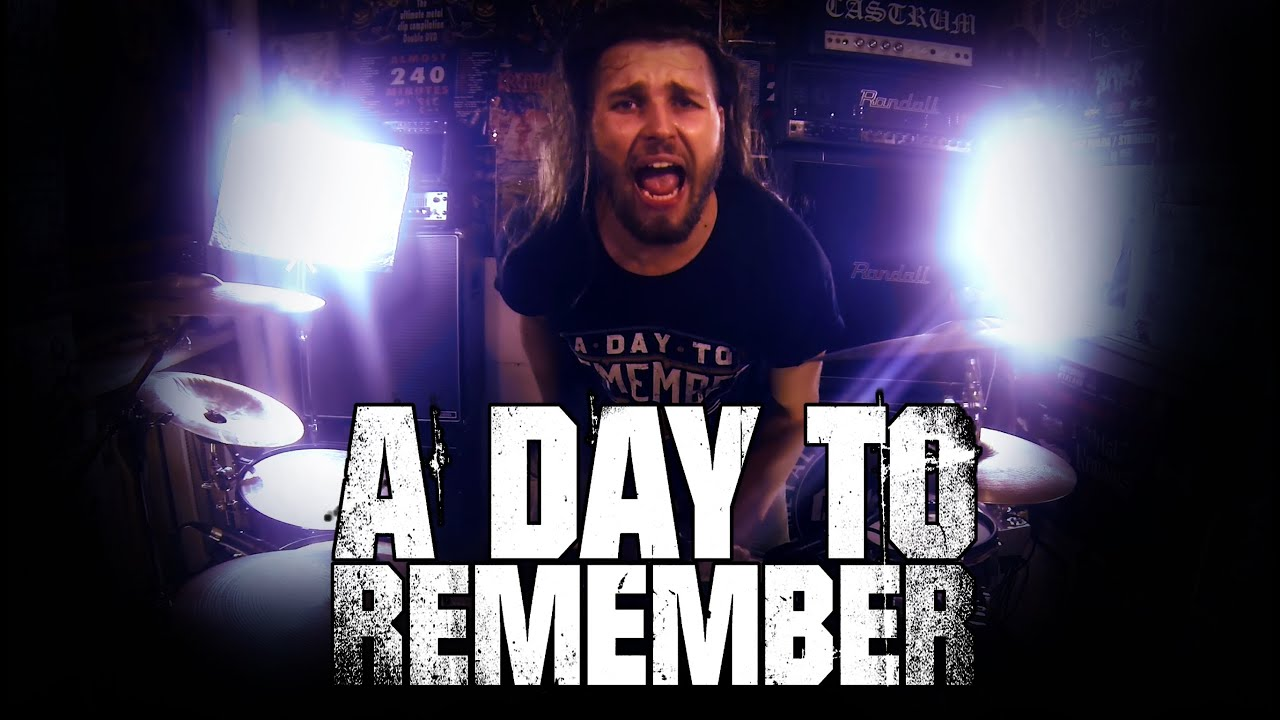 A Day To Remember - Right Back At It Again (cover) - YouTube A Day To Remember Right Back At It Again
