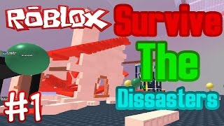 NinjaGamning Roblox bölüm 1:Survive The Disaster mapında çok pis koptuk W/EarthBody