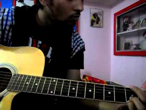 dhadke jiya on guitar