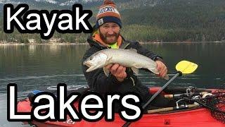 Kayak Jigging Tactics for Lake Trout