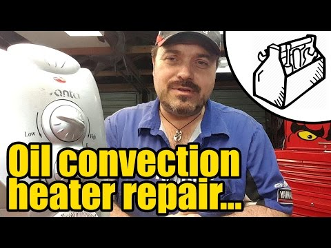 Oil convection heater repair – timer bypass #2103
