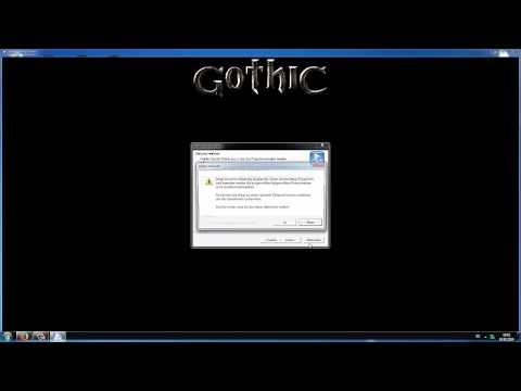 Gothic 1 Error: Access Violation / Problem lösen (Deutsch) (Tutorial) [NullBomb]
