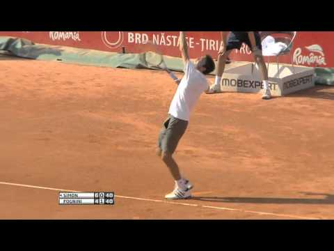 Gilles Simon Beats Fognini In Bucharest Final Highlights