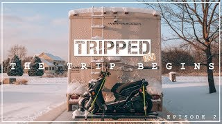 RV MOVING DAY! We Move Fulltime into the RV - TRIPPED RV Ep 2