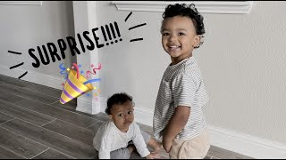WE SURPRISED OUR TODDLERS WITH THIS!!!! | THE SCOTTS