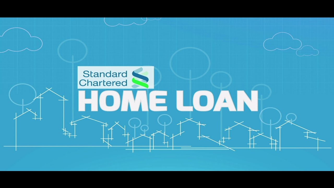 How to Apply for a Standard Chartered Bank Home Loan on BankBazaar.com - YouTube