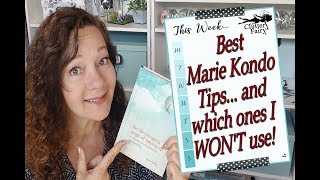 Best Marie Kondo De-clutter Tips... and which ones I WON'T use!