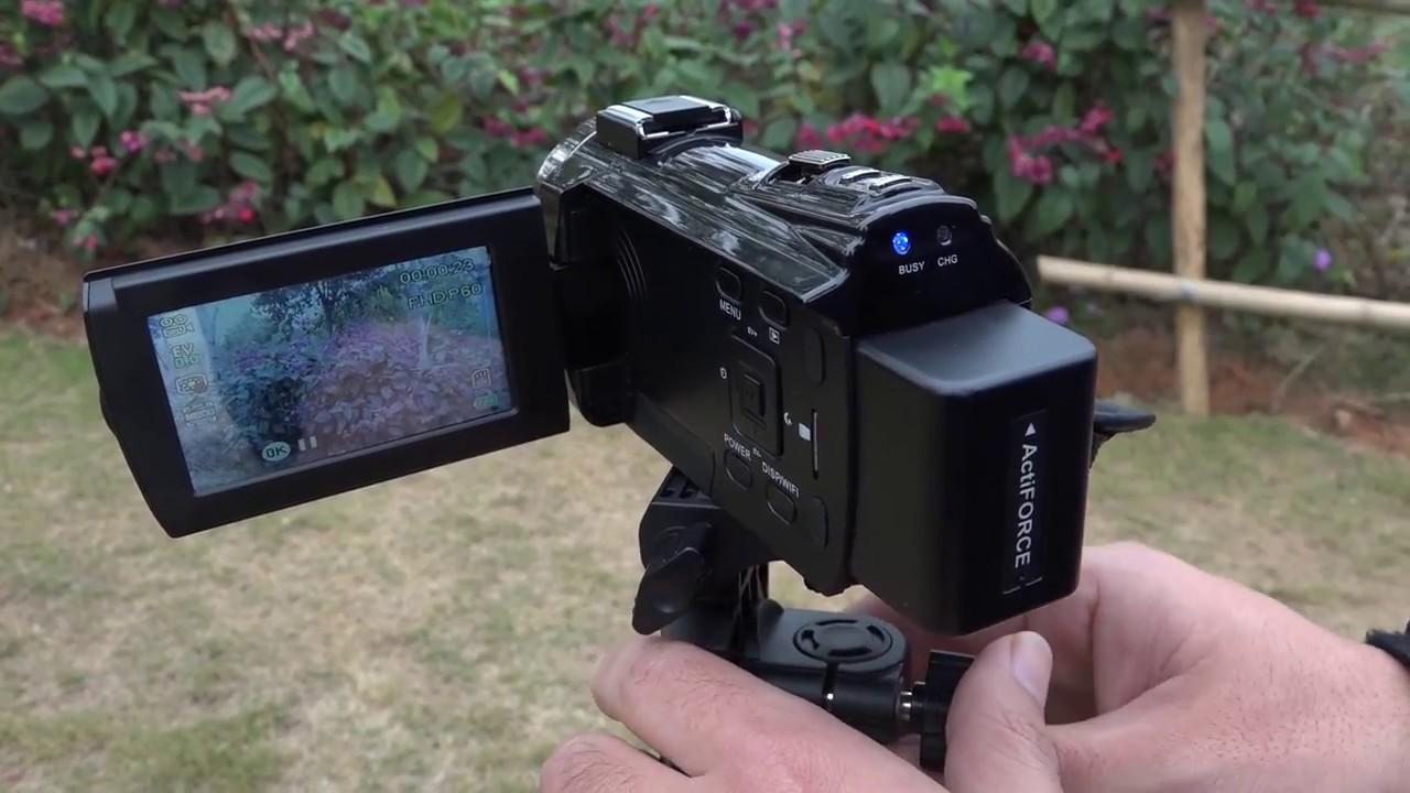 Andoer 4k 1080p 48mp Wifi Digital Video Camera