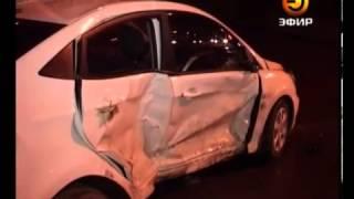 Перехват 17.11.12 Авто жениха и невесты попало в аварию.