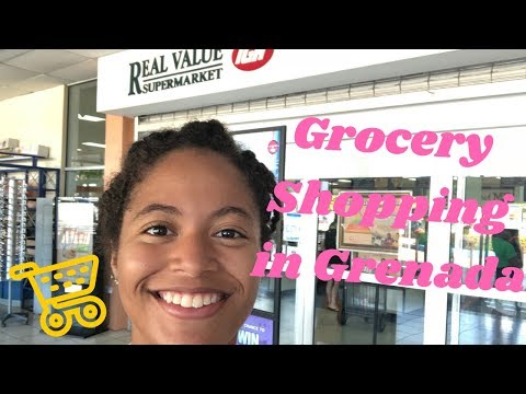 Grocery Shopping in Grenada