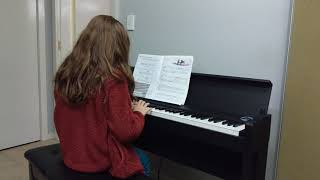 Olivia performs Prelude