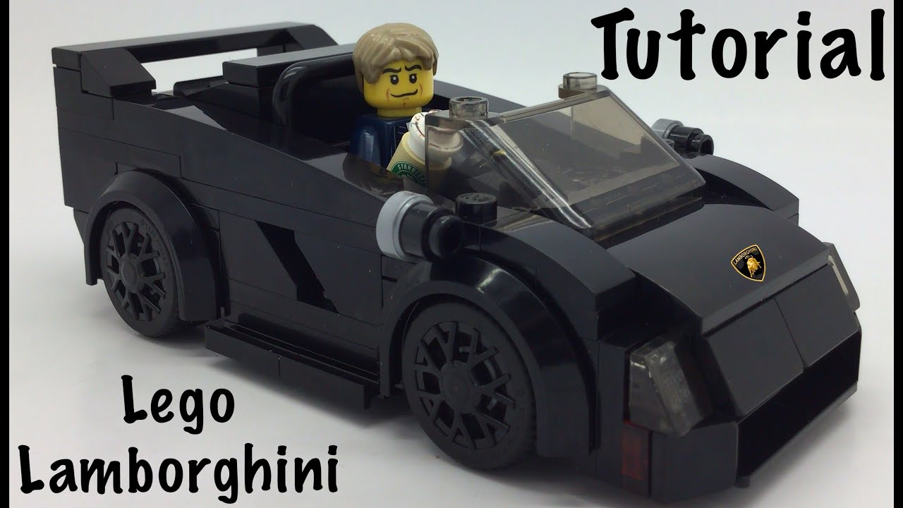 Lego Lamborghini Tutorial Youtube