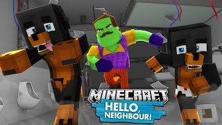 SCARY HELLO NEIGHBOUR IN MINECRAFT - Donut the Dog Custom Map