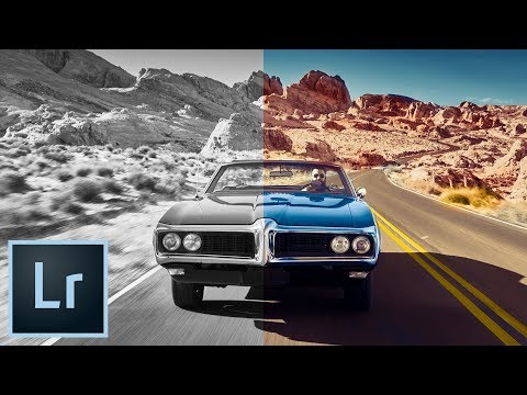 COLORIZE a Black and White Photo Lightroom Tutorial thumbnail