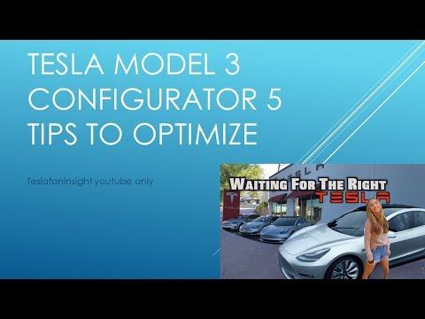 Tesla model 3 configurator live. 5 helpful tips to optimize. 20% off?
