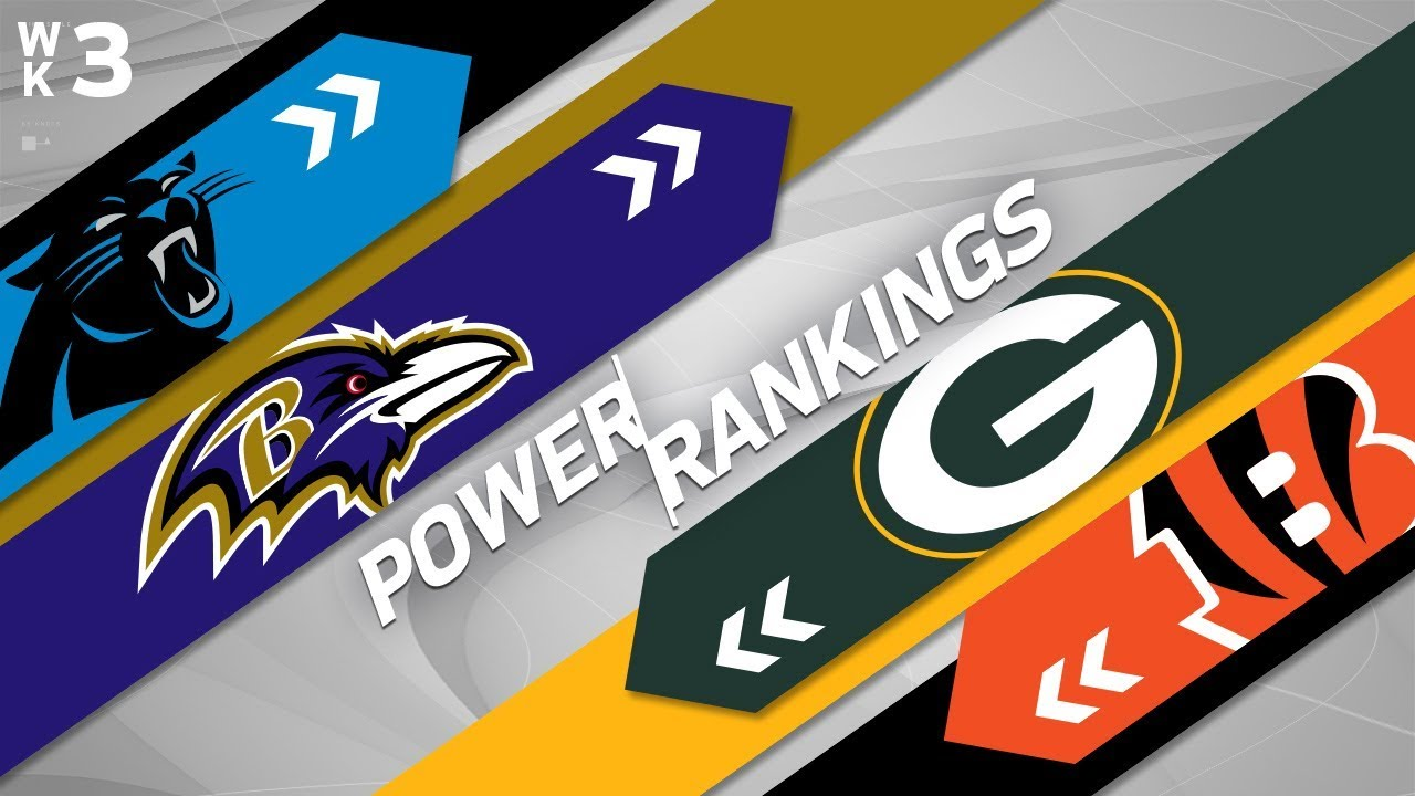NFL Power Rankings  Week 3: Chiefs and their high-powered offense edge Falcons for top spot
