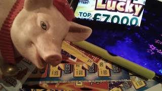 "Christmas Advent Scratchcard..& £1.Million Monopoly..Super 7's..Instant £100(Nick's Pick""s)"