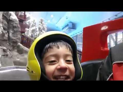 Ski Dubai | Dubai Ski Snow Fun | Rolling in the Big Ball