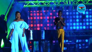 Adina and Akwaboah 'soothe' fans with soul vibes at 3 Music awards