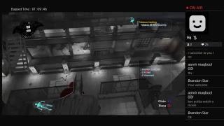 Batman arkham ayslum livestream gameplay