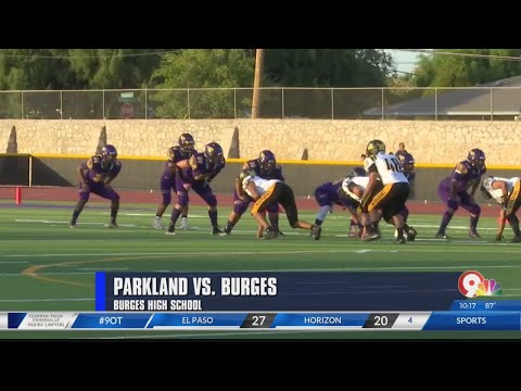 Game Of The Week: Parkland And Burges Tie Under Bizarre Circumstances