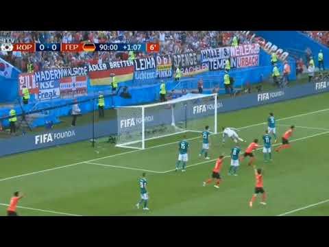 Korea Selatan vs Jerman 2 - 0 Highlights & Goals