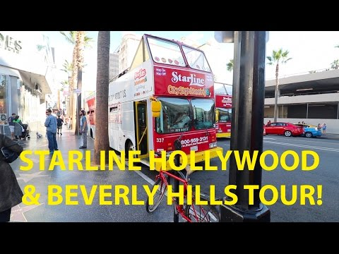 The Starline Hollywood Bus Tour Review