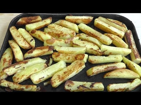 Chunky Oven Chips How to Cook recipe Crispy & Delicious