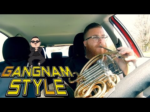 📯Gangnam Style // French Horn Loop Pedal