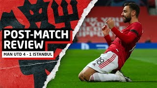 De Beek: QUALITY! | Manchester United 4-1 Istanbul Basaksehir | Post-Match Review