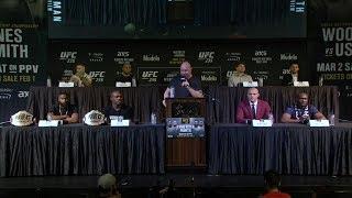 UFC 235: Полная пресс-конференция