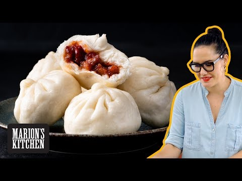 fool-proof-chinese-steamed-bbq-pork-buns-at-home---marion's-kitchen