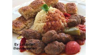 Pratik köfte kavurma ve salma bulgur pilavı tarifi / Ev Lezzetleri / Ramazan Tarifleri