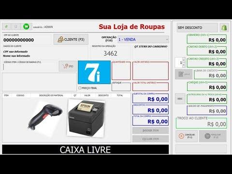 af593e336 FRENTE DE CAIXA PARA LOJA ROUPAS CALCADOS ACESSORIOS OUTROS ERP (VAREJO)