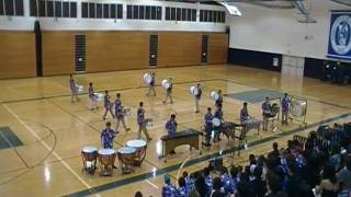 Riordan High School Drum Line at Hawaii 2010 Drum Line Competition