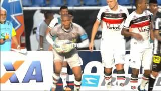 Melhores Momentos - Botafogo 0 x 3 Santa Cruz - Brasileirão Serie B 2015