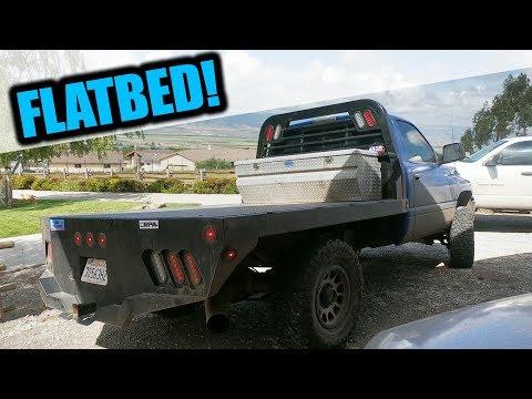 Norstar Flatbed - 96 Dodge 2500 5 Speed 12 Valve Cummins