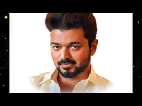 South Indian actor  (Thalapathy Vijay)  smudge art in photoshop   l That's Amazing