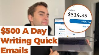Earn $500 Per Day By Sending Emails! Available World Wide (Make Money Online)