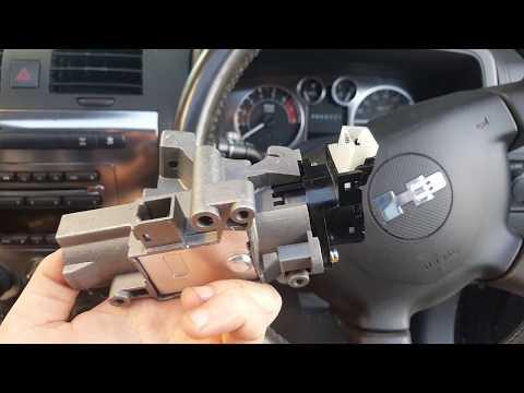 Hummer H3 Passlock Repair - How to replace sensor