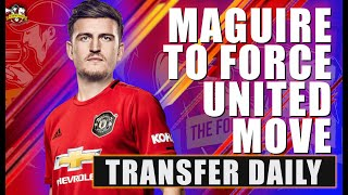 Harry Maguire to Manchester United CLOSE as Maguire skips training! Man United Transfer News