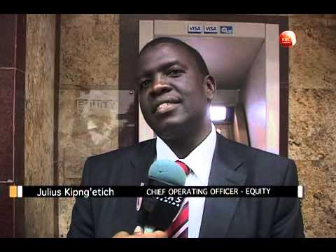 Equity Bank partners with Visa card