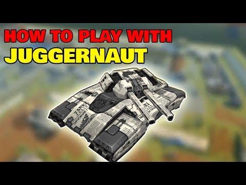 Tanki Online - How To Play With JUGGERNAUT !! |  танки онлайн джаггернаут | AV Gamers