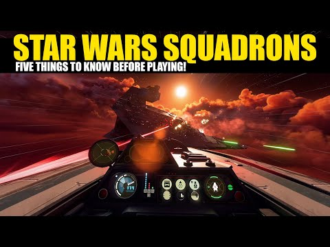 5 Things you need to know BEFORE playing Star Wars Squadrons