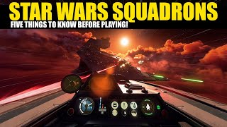 5 Things you nęed to know BEFORE playing Star Wars Squadrons