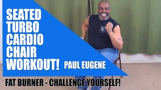 Seated Cardio Turbo Chair Workout! Gets Your Heart Rate Up While You Sit and Get Fit.