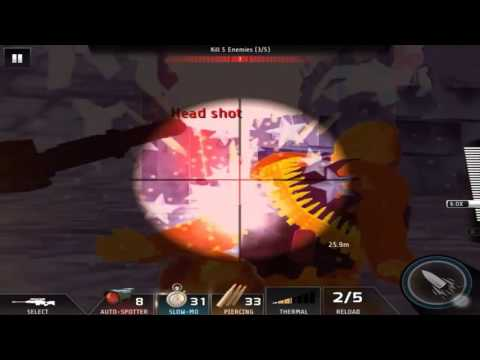 Kill Shot Bravo Region 21 Primary Mission 11- Kill 5 Enemies